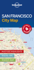 Lonely Planet San Francisco City Map 1 Cover Image