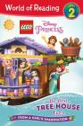 World of Reading LEGO Disney Princess: The Best Tree House Ever (Level 2) Cover Image