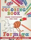 Coloring Book: English - Portuguese I Learn Portuguese for Kids I Creative Painting and Learning. (Learn Languages #7) Cover Image