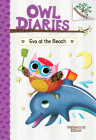 Eva at the Beach: A Branches Book (Owl Diaries #14) (Library Edition) Cover Image