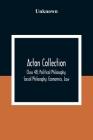 Acton Collection: Class 48; Political Philosophy, Social Philosophy, Economics, Law Cover Image