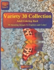 Variety 30 Collection: Adult Coloring Book Cover Image
