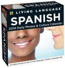 Living Language: Spanish 2019 Day-to-Day Calendar Cover Image