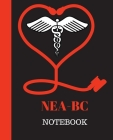 NEA-BC Notebook: Nurse Executive Advanced-Board Certified Notebook Gift - 120 Pages Ruled With Personalized Cover Cover Image