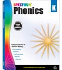 Spectrum Phonics, Grade K Cover Image