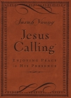 Jesus Calling (Brown Leathersoft): Enjoying Peace in His Presence (with Scripture References) Cover Image