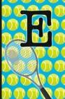 E: Tennis Monogram Initial Notebook for boys Letter E - 6