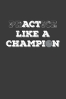 Practice Like A Champion: Rodding Notebook Cover Image