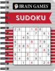 Brain Games Mini - Sudoku (Red) Cover Image