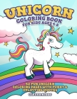 Unicorn Coloring Book for Kids Ages 4-8: 50 Fun Unicorn Coloring Pages with Funny & Uplifiting Quotes Cover Image