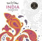 Vive Le Color! India (Adult Coloring Book): Color In; De-stress (72 Tear-out Pages) Cover Image