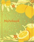 College Notebook: Student notebook Journal Diary Lemonade cover notepad by Raz McOvoo Cover Image