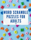 Word Scramble Puzzles for Adults Vol 2 Cover Image