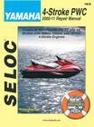 Yamaha Personal Watercraft 2002-11 Repair Manual: All 4-Stroke Models Cover Image