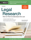 Legal Research: How to Find & Understand the Law Cover Image
