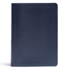 CSB She Reads Truth Bible, Navy LeatherTouch Cover Image