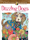 Creative Haven Dazzling Dogs Coloring Book (Creative Haven Coloring Books) Cover Image