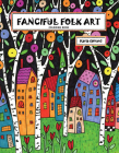 Fanciful Folk Art Coloring Book Cover Image