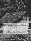 Walden: Large Print Cover Image