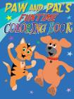 Paw and Pal's Funtime Coloring Book Cover Image