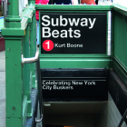 Subway Beats: Celebrating New York City Buskers Cover Image