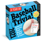 Year of Baseball Trivia! Page-A-Day Calendar 2021 Cover Image