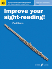 Improve Your Sight-Reading! Flute, Levels 1-3 (Elementary): A Progressive Sight-Reading Method, Book & Online Audio Cover Image