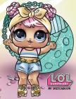My Sketchbook: L.O.L. Surprise! Dolls (Volume 2): 100 High Quality Sketch Pages (Dawn Alternate Cover Art) Cover Image