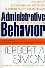Administrative Behavior, 4th Edition Cover Image