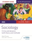 Aqa Sociology Student Guide 3: Crime and Deviance (with Theory and Methods)Student Guide 3 Cover Image