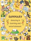 Amazing inlearning andentertainment: Coloring Books For Kids Underwater World: For Kids Aged 7+ ( Books For Kids Aged 7-12), Happy Animals Coloring Bo Cover Image
