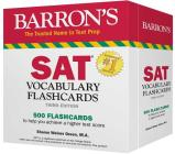 SAT Vocabulary Flashcards (Barron's Test Prep) Cover Image