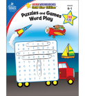 Puzzles and Games: Word Play, Grades K - 1: Gold Star Edition (Home Workbooks) Cover Image