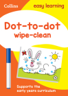 Collins Easy Learning Preschool – Dot-to-Dot Age 3-5 Wipe Clean Activity Book Cover Image