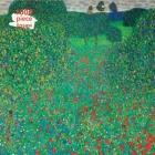 Adult Jigsaw Puzzle Gustav Klimt: Poppy Field: 1000-piece Jigsaw Puzzles Cover Image