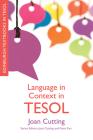 Language in Context in Tesol (Edinburgh Textbooks in Tesol) Cover Image