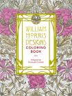 William Morris Designs Coloring Book Cover Image
