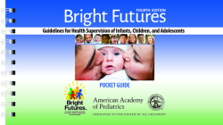 Bright Futures: Guidelines Pocket Guide Cover Image