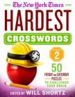 The New York Times Hardest Crosswords Volume 2: 50 Friday and Saturday Puzzles to Challenge Your Brain Cover Image