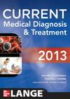 Current Medical Diagnosis and Treatment 2013 Cover Image