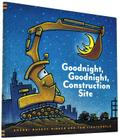 Goodnight, Goodnight Construction Site (Hardcover Books for Toddlers, Preschool Books for Kids) Cover Image