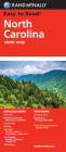 Rand McNally North Carolina State Map (Rand McNally State Maps) Cover Image