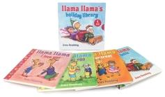 Llama Llama's Holiday Library Cover Image