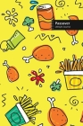 Passover Lifestyle Journal, Blank Write-in Notebook, Dotted Lines, Wide Ruled, Size (A5) 6 x 9 In (Yellow) Cover Image