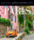 Paris Page-A-Day Gallery Calendar 2020 Cover Image