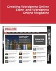 Creating Wordpress Online Store and Wordpress Online Magazine Cover Image