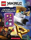 Lego Ninjago: Ninja vs. Nindroid Activity Book (with Minifigure) Cover Image