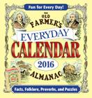 The Old Farmer's Almanac 2016 Everyday Calendar Cover Image