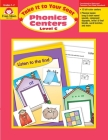 Phonics Centers Level C (Take It to Your Seat) Cover Image