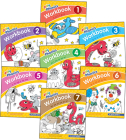Jolly Phonics Workbooks 1-7: In Print Letters (American English Edition) Cover Image